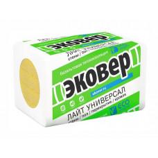 ЭКОВЕР ЛАЙТ УНИВЕРСАЛ, 1000х600х100 мм (6 плит, 0,36 куб.м) 3,6 м2
