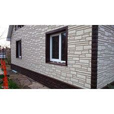 Панель камень (белый), 1,14 х 0,48м