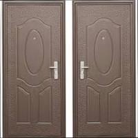 Дверь металлическая  Е40М (860, 960 ) эконом правая, левая