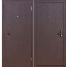 Дверь металлическая мет/мет АМД Медный антик правая, левая