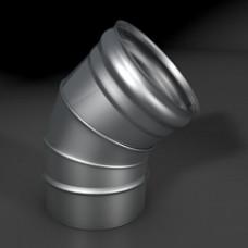 Отвод 45* ОМ-Р 304-0.8 D150