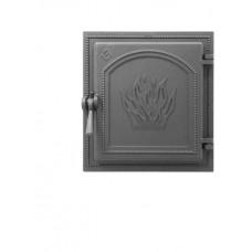 Дверка каминная Везувий 271 Антрацит, герметичная