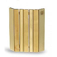 Абажур для углового светильника  деревянный из лиственных пород 290х360