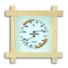 Термогигрометр 1008, биметаллический/ струнный