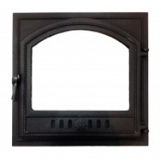 Дверка каминная ВЕЗУВИЙ 205 (410х410)