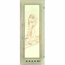 """Дверь """"Элит"""" с вентиляцией 185х75"""