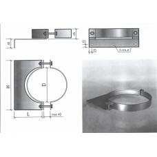 Крепление стеновое КС D 250