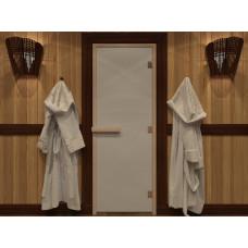 """Дверь для сауны """"Теплое утро"""" (сатин) 190х70"""