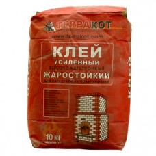 """Клей """"Терракот"""" усиленный жаростойкий (10 кг)"""