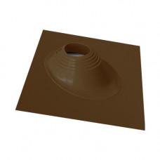 Кровельный уплотнитель дымохода угловой № 1 силикон 75-200 mm коричневый