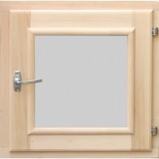 Окно для бани 45х45 стеклопакет