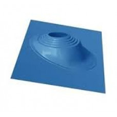 Кровельный уплотнитель дымохода угловой № 1 силикон 75-200 mm синий
