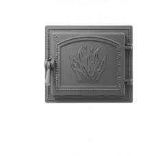 Дверка каминная Везувий 261 Антрацит, герметичная