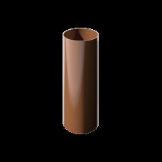Труба водосточная 3м ,коричневый Verat